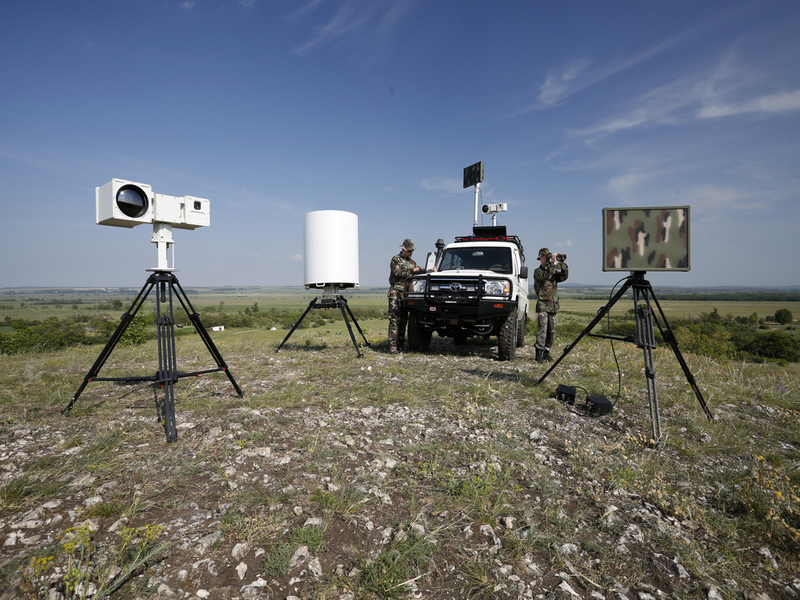 Vehicle Mounted Ground Surveillance System